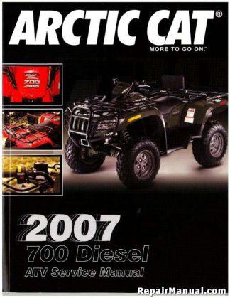 2007 Arctic Cat 700 Diesel Trv Service Manual border=