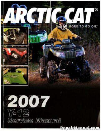 Official 2007 Arctic Cat Y-12 90 DVX ATV Factory Service Manual