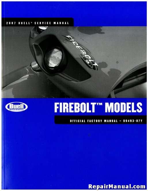 2007 buell firebolt motorcycle service manual rh repairmanual com 2007 buell firebolt xb12r service manual Buell Firebolt XB9R