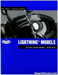 Official 2007 Buell Lightning Service Manual