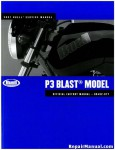 Official 2007 Buell P3 Blast Factory Service Manual