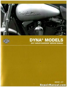 Official 2007 Harley Davidson Dyna Service Manual