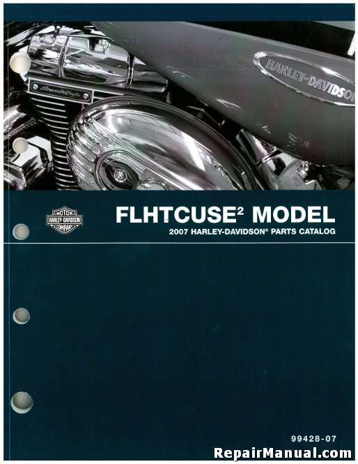 ... Davidson Motorcycle Manuals / 2007 Harley Davidson FLHTCUSE2 Parts
