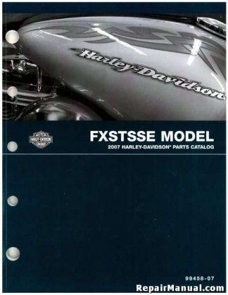 Official 2007 Harley Davidson FXSTSSE Parts Manual