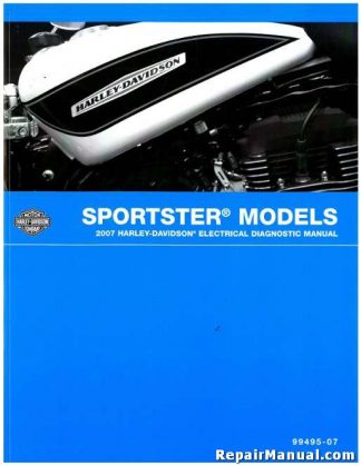Official 2007 Harley Davidson Sportster Electrical Diagnostic Manual
