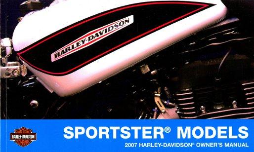 2007 harley davidson sportster motorcycle owners manual harley sportster owners manual sportster 883 owners manual