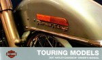 Official 2007 Harley Davidson Touring Owners Manual