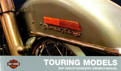 2007 harley davidson touring models owners manual