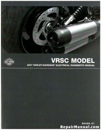 Official 2007 Harley Davidson VRSC Electrical Diagnostic Manual