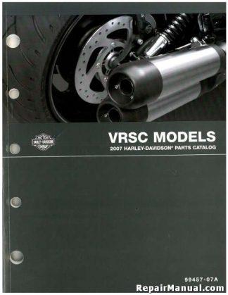 Official 2007 Harley Davidson VRSC V-ROD Parts Manual