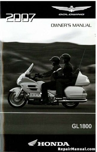 2007 Honda Vt1100c2 Shadow Sabre Motorcycle Owners Manual