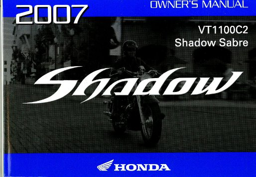 honda shadow 1100 owners manual pdf