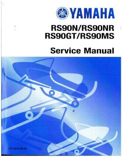 Official 2007 Nytro Yamaha RS90NW Snowmobile Factory Service Manual