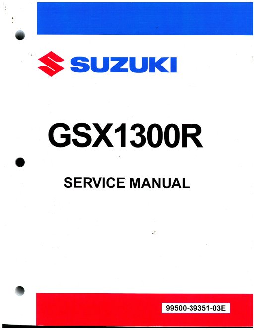 2008 2018 suzuki gsx1300r hayabusa motorcycle service manual. Black Bedroom Furniture Sets. Home Design Ideas