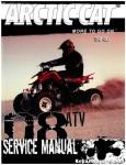 Official 2008 Arctic Cat 400 DVX Factory Service Manual