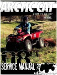 Official 2008 Arctic Cat 700 Diesel Factory Service Manual