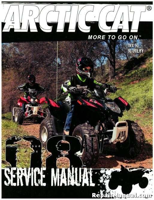 2008 Arctic Cat 90 Dvx 90 Utility Service Manual