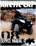 Official 2008 Arctic Cat 400 500 650 700 ATV Factory Service Manual