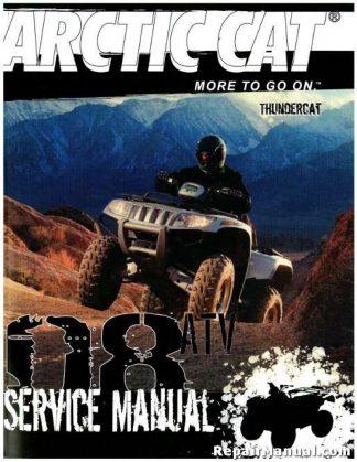 Official 2008 Arctic Cat Thundercat Factory Service Manual