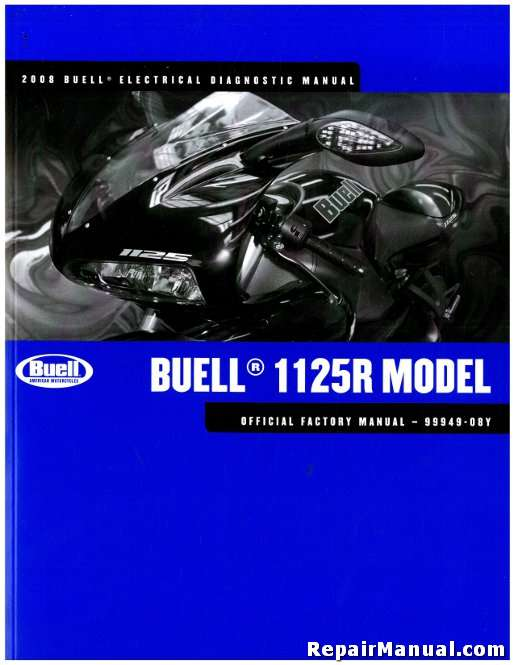 2008 Buell 1125R Motorcycle Electrical Diagnostics Manual