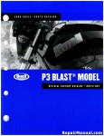 Official 2008 Buell P3 Blast Parts Manual