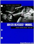 Official 2008 Buell XB12X Ulysses Parts Manual