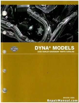 Official 2008 Harley Davidson FXD Dyna Parts Manual
