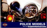 Official 2008 Harley Davidson Police Owners Manual