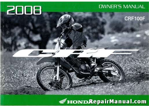 2008 crf100f honda motorcycle owners manual rh repairmanual com honda crf 100 service manual pdf honda crf100f service manual free download
