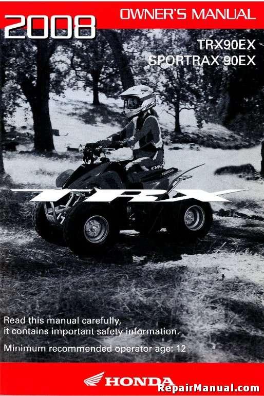 Honda 90 hp owners manual