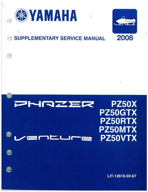 07 Yamaha phazer Service manual