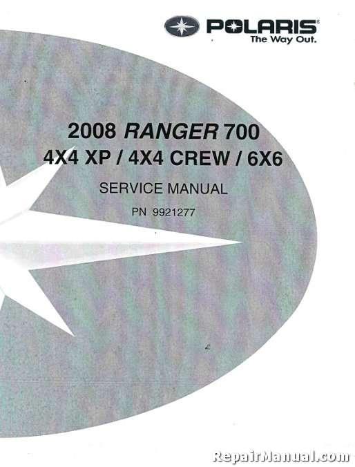 2008 polaris ranger 700 side by side repair manual. Black Bedroom Furniture Sets. Home Design Ideas