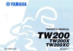 Official 2008 Yamaha TW200X Factory Owners Manual