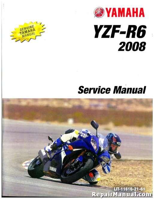 used 2008 yamaha yzfr600x r6 motorcycle repair manual rh repairmanual com 2003 Yamaha R6 2004 Yamaha R6