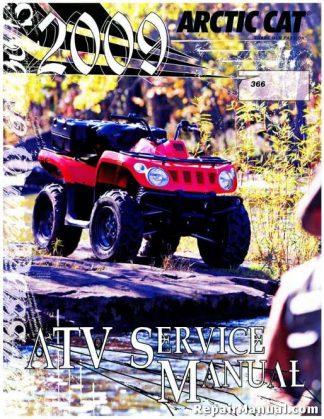 arctic cat prowler 2009 xt xtx service repair manual