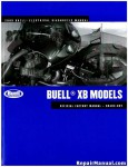 Official 2009 Buell XB Factory Electrical Diagnostics Manual
