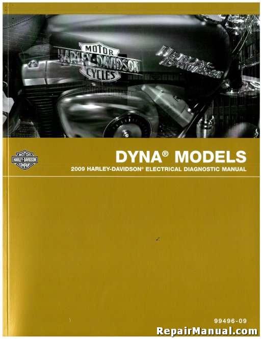 2009 Harley Davidson Dyna Motorcycle Electrical Diagnostic