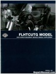 Official 2009 Harley Davidson FLHTCUTG Tri Glide Service Manual Supplement