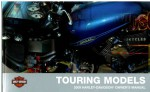 Official 2009 Harley Davidson Touring Owners Manual
