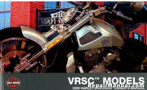 2009 harley davidson vrsc v rod motorcycle owners manual rh repairmanual com 2006 harley davidson v rod owners manual harley davidson night rod owners manual