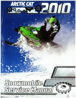 Official 2010 Arctic Cat Snowmobile Factory Service Manual