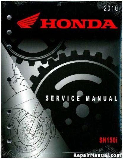 Official 2010 Honda SH150i Factory Service Manual
