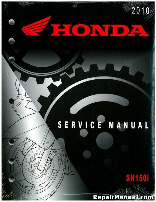 2010 honda sh150i scooter service manual rh repairmanual com honda sh 150 workshop manual honda sh 150 manual 2010