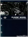 Official 2011 Harley Davidson FLHXSE2 Parts Manual