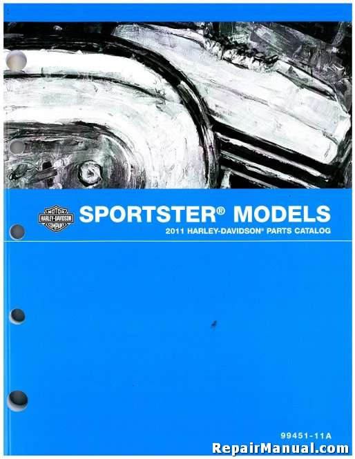 2012 Harley Davidson Sportster Motorcycle Parts Manual