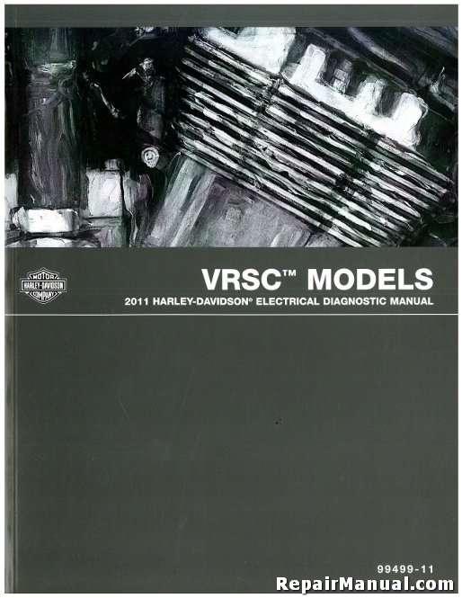official 2011 harley davidson vrsc v-rod electrical diagnostic manual