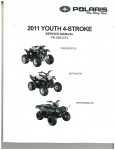 Official 2011 Polaris Outlaw 50 Outlaw 90 And Sportsman 90 Factory Service Manual