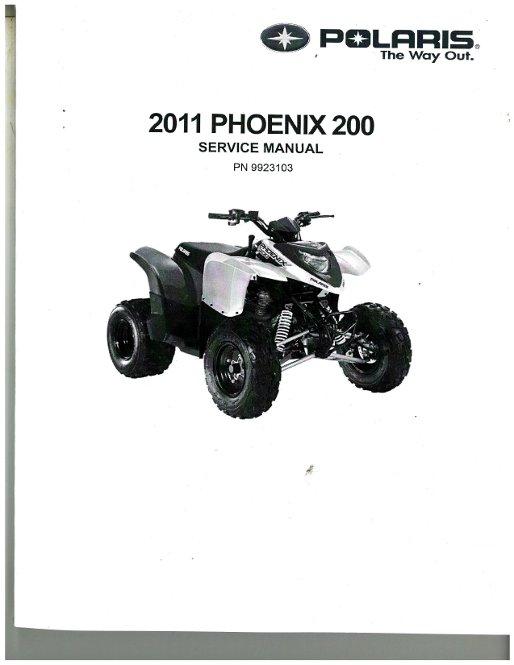 2011 Polaris Phoenix 200 Service Manual
