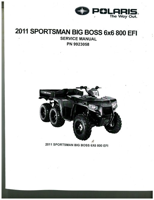 2007 polaris ranger 700 twin efi 4x4 6x6 service repair manual w.