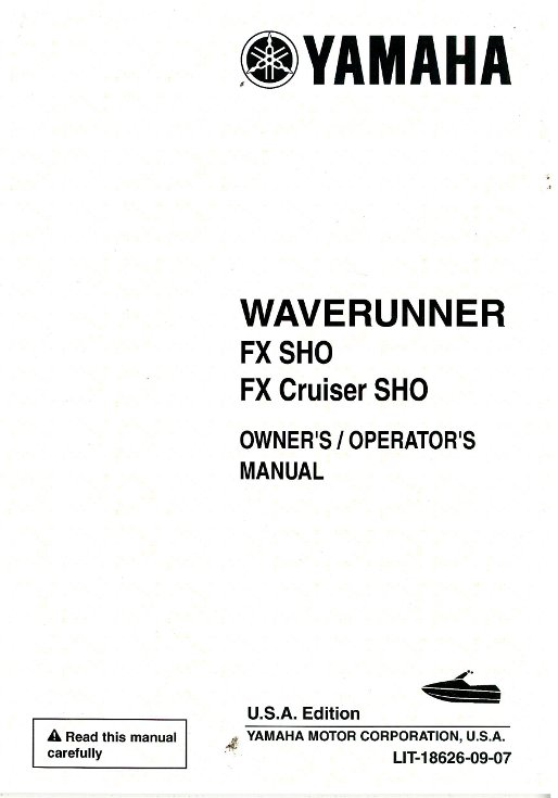 2009 yamaha fx sho owners manual how to and user guide instructions u2022 rh taxibermuda co 2008 yamaha fx ho service manual 2008 yamaha fx ho owner's manual